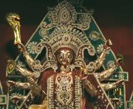 De godin Durga royalty-vrije stock afbeelding