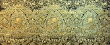 De godsdienst van Tibet het schilderen en cultuur, China Stock Afbeelding