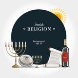 De godsdienstachtergrond van Israël Royalty-vrije Stock Foto