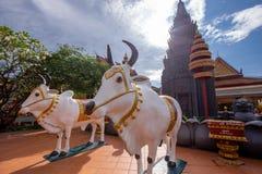De godsdienstige Tempel van Preah Prom Rath van de plaatsnaam stock fotografie