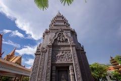 De godsdienstige Tempel van Preah Prom Rath van de plaatsnaam royalty-vrije stock foto's