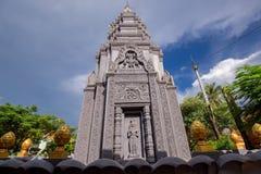 De godsdienstige Tempel van Preah Prom Rath van de plaatsnaam royalty-vrije stock afbeeldingen