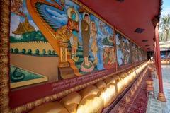 De godsdienstige Tempel van Preah Prom Rath van de plaatsnaam stock foto