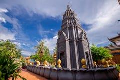 De godsdienstige Tempel van Preah Prom Rath van de plaatsnaam stock afbeelding