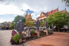 De godsdienstige Tempel van Preah Prom Rath van de plaatsnaam stock foto's