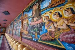 De godsdienstige Tempel van Preah Prom Rath van de plaatsnaam royalty-vrije stock afbeelding