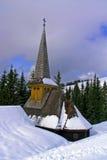 de godsdienstige winter stock afbeeldingen