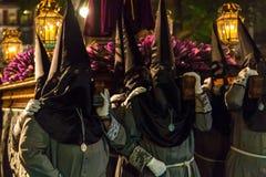 De Goede Donderdag Nacht 2014 09 van Valladolid Stock Foto
