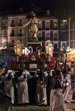 De Goede Donderdag Nacht 2014 11 van Valladolid Stock Fotografie