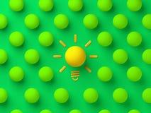 De goede illustratie van het ideeconcept vector illustratie