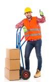 De goede leveringsdienst Stock Fotografie