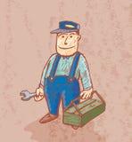 De goede loodgieter Royalty-vrije Stock Fotografie