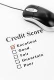 De goede Score van het Krediet royalty-vrije stock afbeelding