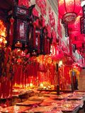 De goederen van het de Lentefestival van China op verkoop Stock Fotografie