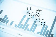 De Gok van de Effectenbeurs stock fotografie