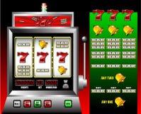 De gokautomaat van het casino stock foto