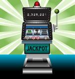 De gokautomaat van het casino Stock Fotografie