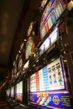 De gokautomaten van het casino Stock Foto's