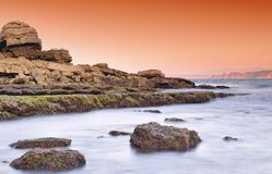 De Golf van Biskaje. stock foto's