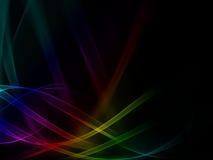 De golf van de kleur Stock Afbeeldingen
