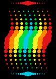 De golf van de regenboog Stock Afbeeldingen