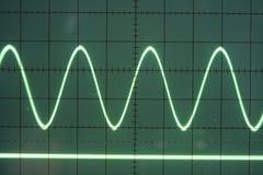 De golf van de sinus Stock Afbeelding