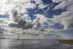 De Golf van het varende schip van Finland Royalty-vrije Stock Foto's