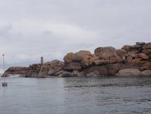 De Golf van Morbihan - Bretagne - Frankrijk royalty-vrije stock afbeelding