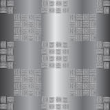 De golf vectorillustratie van de staalplaat Stock Foto