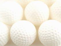 De Golfballen van de praktijk Stock Afbeelding