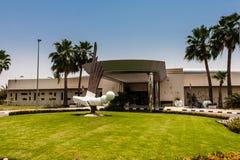 De golfclub in de campus van de Koning Abdullah University van Wetenschap en Technologie, Thuwal, Saudi-Arabië royalty-vrije stock afbeeldingen