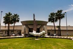 De golfclub in de campus van de Koning Abdullah University van Wetenschap en Technologie, Thuwal, Saudi-Arabië stock foto's