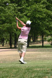 De golfspeler van de dame Royalty-vrije Stock Foto