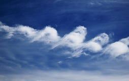 De golven in de hemel Royalty-vrije Stock Foto's
