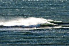 De golven van de Atlantische Oceaan in Patagonië Royalty-vrije Stock Afbeeldingen
