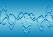 De golven van de energie Stock Fotografie
