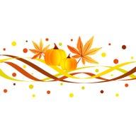 De golven van de herfst vector illustratie