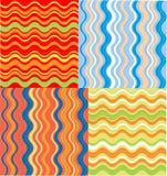De golven van de kleur Royalty-vrije Stock Foto