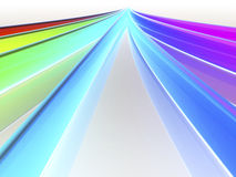De golven van de regenboog Royalty-vrije Illustratie