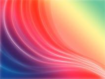 De golven van de regenboog Stock Afbeeldingen