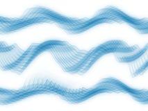 De Golven van de Sinus van de analysator Royalty-vrije Stock Foto