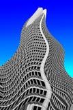 De golven van de wolkenkrabber Stock Fotografie