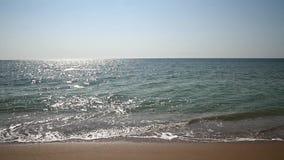 De Golven van de Zwarte Zee stock video
