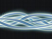 De golven van Enegy Stock Afbeeldingen