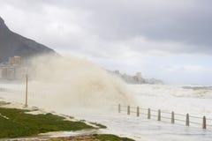 De golven van het onweer Royalty-vrije Stock Foto's
