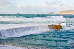 De golven van het onweer Royalty-vrije Stock Afbeelding