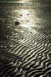 De golven van het zand Stock Afbeeldingen