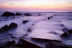 De golven van Mistic stock fotografie