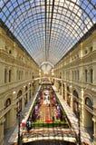 De GOM van Moskou het winkelen galerij Royalty-vrije Stock Foto