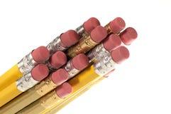 De Gommen van het potlood Stock Afbeelding